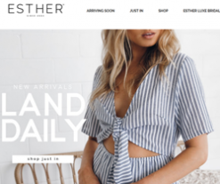 esther boutique Discount Codes 2018