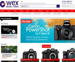 Wex Photo Video Discount Code