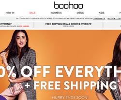 Boohoo Canada Promo Codes 2018