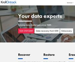 Kroll Ontrack UK Discount Code