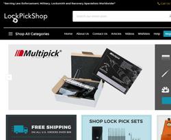 Lockpick Shop Coupon Codes 2018