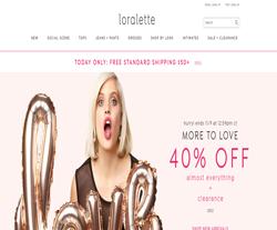 Loralette Discount Code 2018