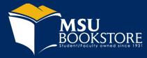 MSU Bookstore promo code