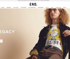 End Clothing Promo Codes 2018
