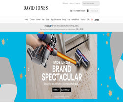 David Jones Promo Codes 2018
