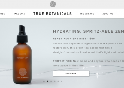 True Botanicals Promo Codes 2018