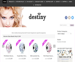 Destiny Jewellery Discount Code 2018