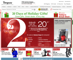 Bergner's Coupon 2018