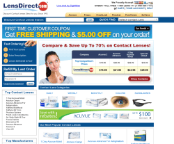 Lens Direct Coupon 2018