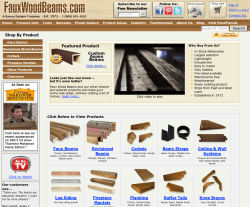 Faux Wood Beams Coupon 2018