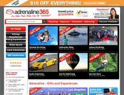 Adrenaline365 Promo Codes