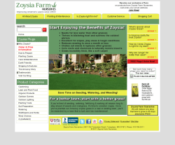 Zoysia Farms Nurseries Promo Codes 2018