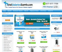 Total Diabetes Supply Coupon