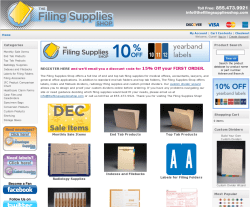 The Filing Supplies Shop Promo Codes 2018