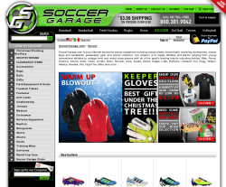Soccer Garage Coupon