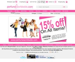 Perfume Worldwide Coupon