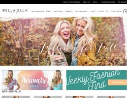 Bella Ella Boutique Coupons 2018