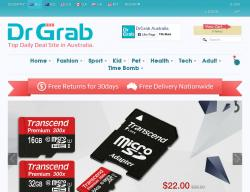 Drgrab Australia Promo Codes