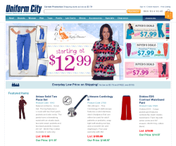 Uniform City Coupon 2018