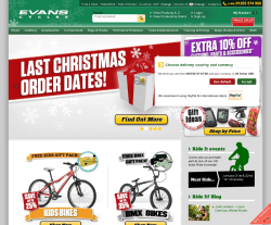 Evans Cycles Promo Code