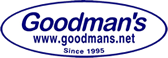 Goodmans.net Coupon Code & Deals