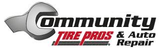 Community Tire Pros & Auto Repair Coupons