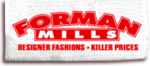 Forman Mills Promo Codes & Deals