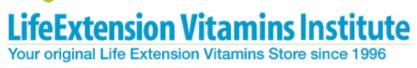 Life Extension Vitamins coupon code
