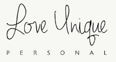 Love Unique Personal
