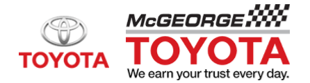 McGeorge Toyota coupons