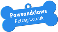 Paws and Claws Pet Tags