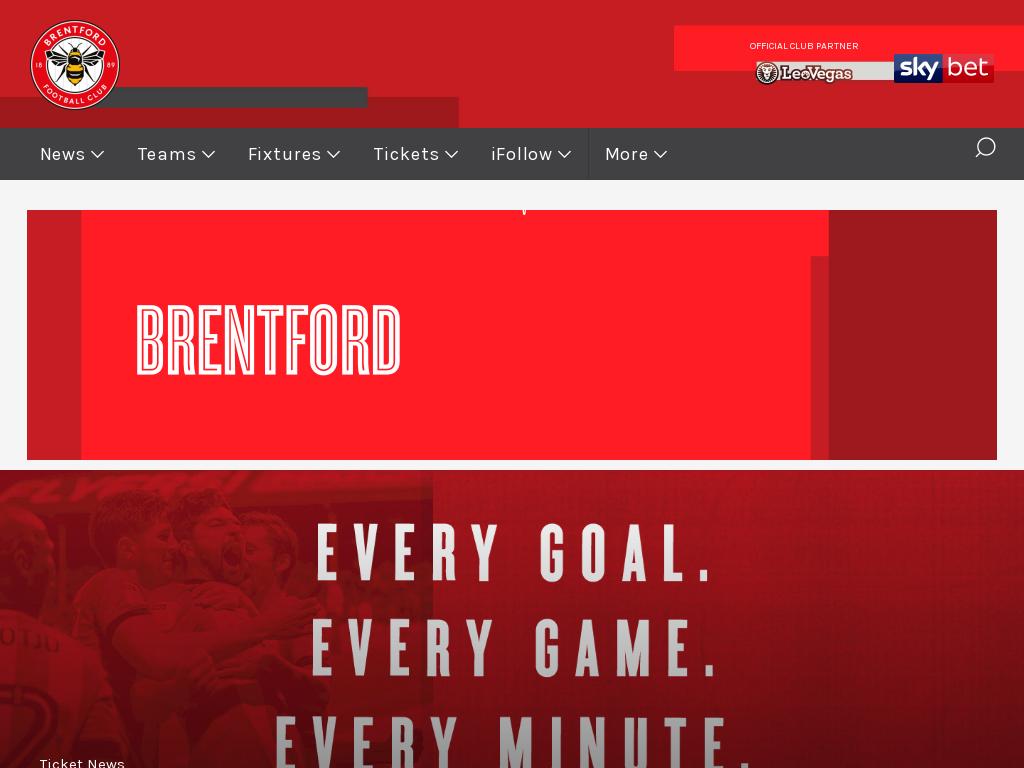 Brentford FC Promo Codes & Discount Codes 2018