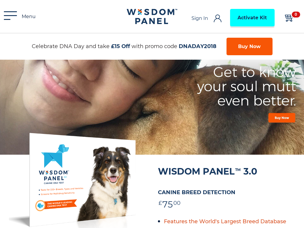 Wisdom Panel UK Promo Codes & Coupon Codes 2018