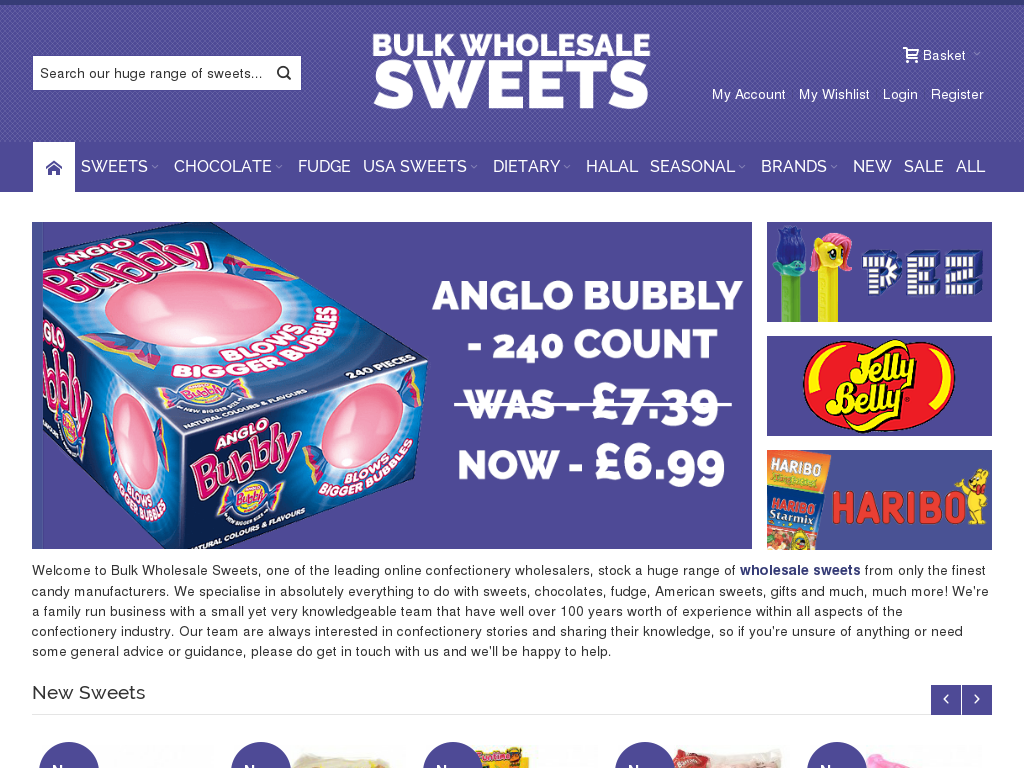 Bulk Wholesale Sweets Coupons & Promotion Codes 2018