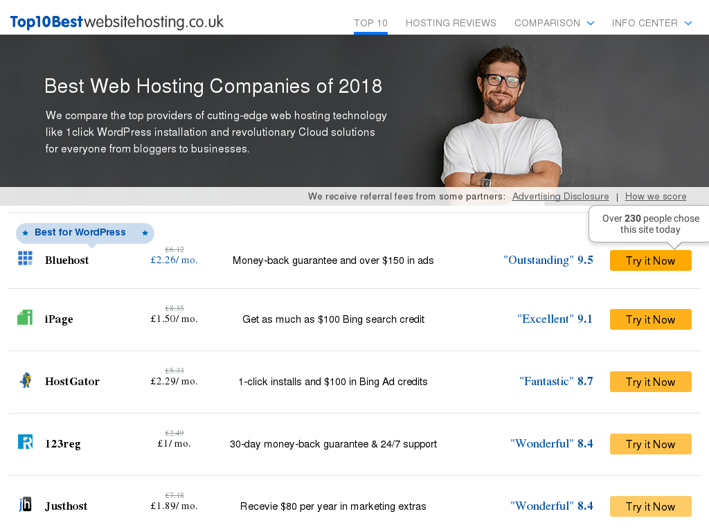Top 10 Web Hosting Promo Codes 2018