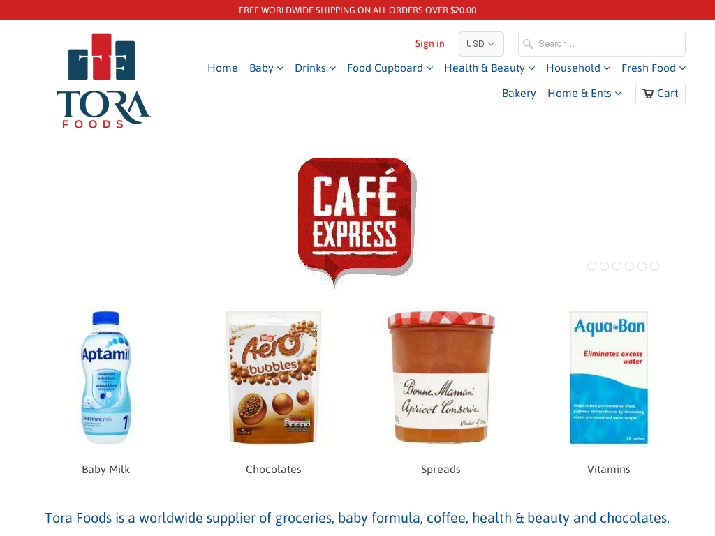 Tora Foods Promo Codes & Discount Codes 2018
