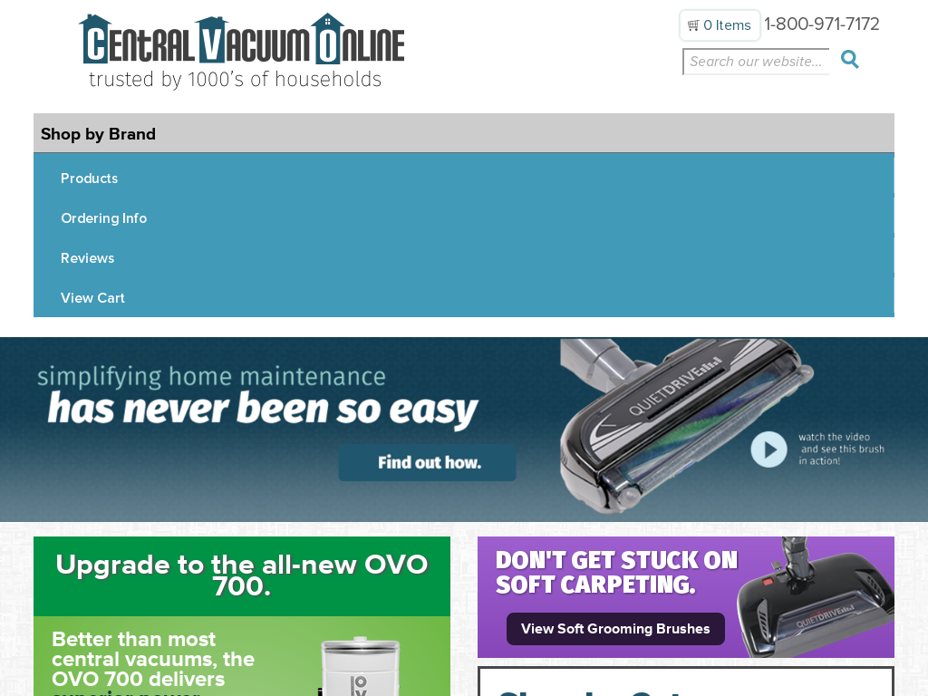 Central Vacuum Online Promo Codes & Discount Codes 2018