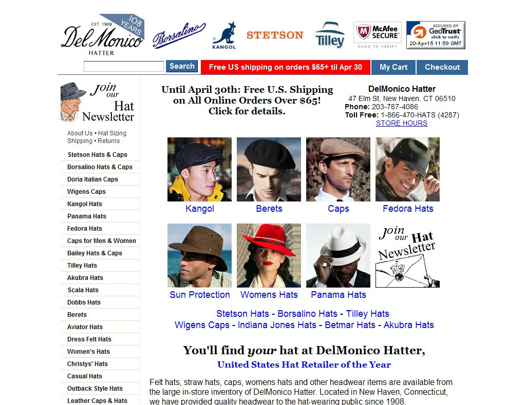 Delmonico Hatter Coupon 2018