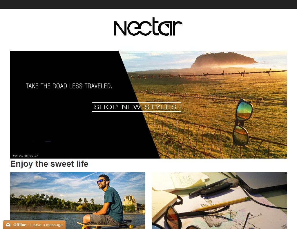 Nectar Sunglasses Discount Codes