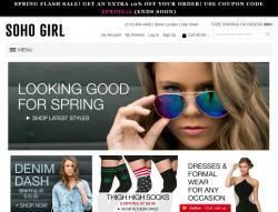 Soho Girl Coupons & Promo Codes