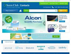 Sam's Club Contacts Coupon