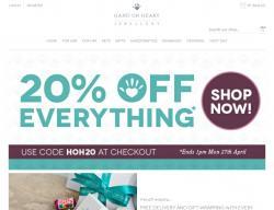 Hand on Heart Jewellery Discount Code & Voucher