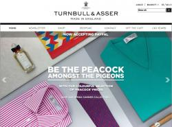 Turnbull & Asser Discount Codes