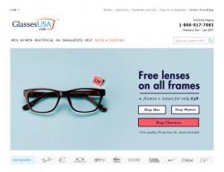 GlassesUSA Promo Codes