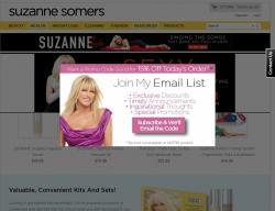 Suzanne Somers Promo Codes 2018