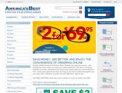 America's Best Contacts Promo Codes 2018