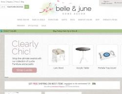 Belle and June Promo Codes
