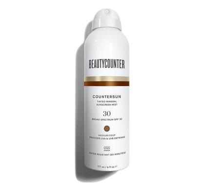 Beautycounter Countersun Tinted Mineral Sunscreen Mist SPF 30