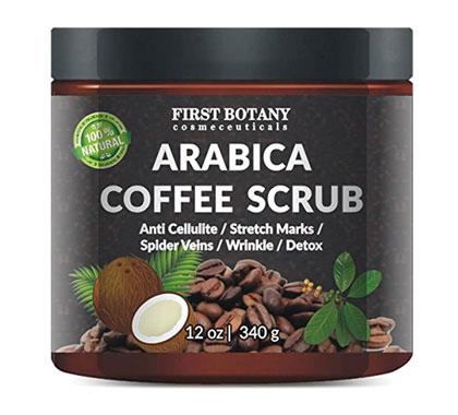 First Botany Arabica Coffee Scrub