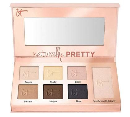 IT Cosmetics Naturally Pretty Essentials Matte Luxe Eyeshadow Palette
